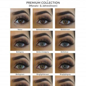 Premium Collection - Farbige Jahreslinsen